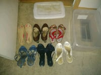 Shoes- flats and heels-