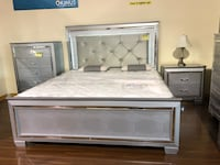 Pfc lilian king size bed CM7100 Irving, 75062