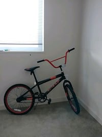 black and red BMX bike Chillum, 20782