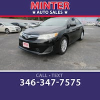2012 Toyota Camry LE South Houston