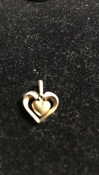 gold heart pendant Peterborough, K9J 1R4