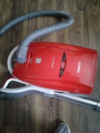 red and gray Elegance canister vacuum cleaner Edmonton, T5H 2V5