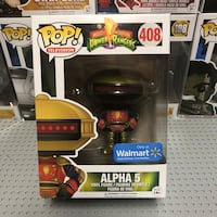 From Mighty Morphin Power Rangers: Alpha 5 Funk Pop. Never been opened. Elton, 70532