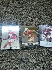 sf vernon davis football collectible card Des Moines, 50315