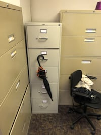 Filing Cabinets (Various sizes)