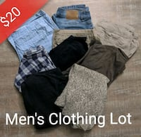 Men's clothing lot (9 items for 20$) Toronto, M4J 2A1