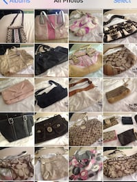 Authentic purses for sale near new or new
