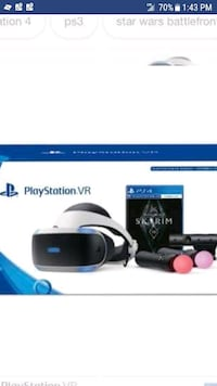 PlayStation VR for trade for scooter of Honda Ruck Plaistow, 03865