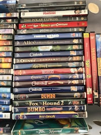 Load of 50 Childrens DVD's