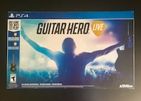 Brand New Guitar Hero Live PS4 Includes:One Video Game, One Guitar Controller & Controller Batteries Denver, 80247