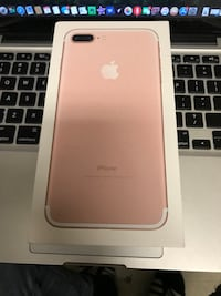 Rose Gold iPhone 7 Plus $450