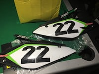 Kx 250 back plastics Baltimore, 21222