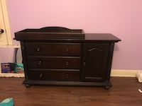 Dresser with removable changing table Kenner, 70065