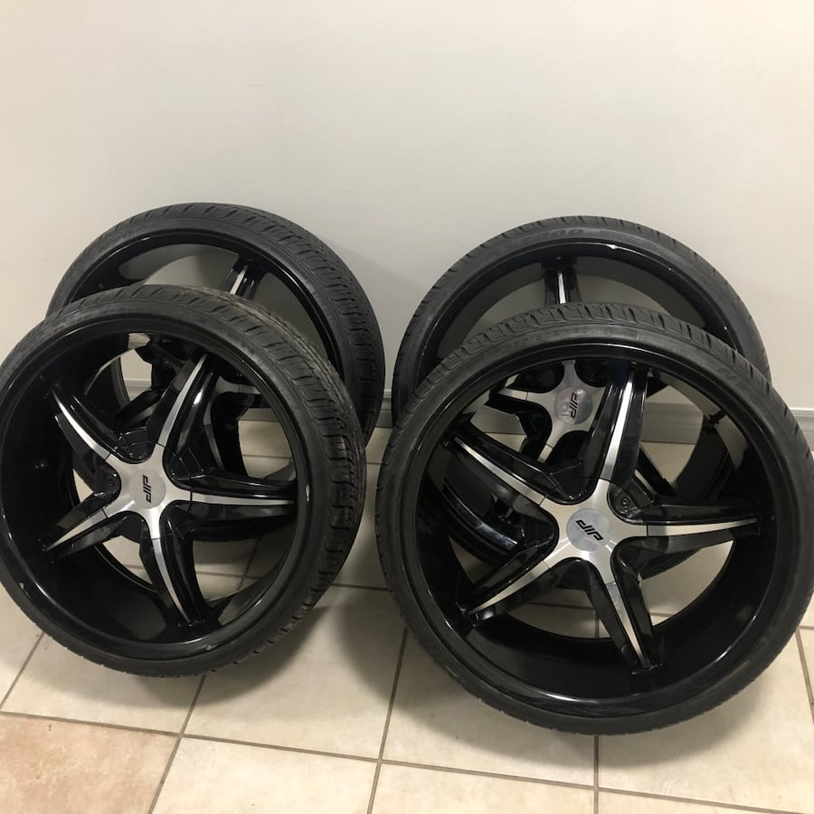 Negotiable  Four Tires and rims for sale Regular price $2000