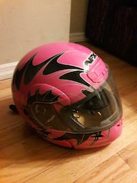 pink and black afx full face motorcycle helmet Lyndhurst, 07071