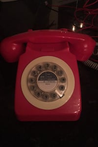 Push button vintage style Phone Silver Spring, 20910