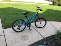 Girls 20inch mountain bike almost new Wyoming, 49418