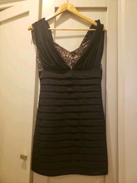 Maxandcleo black and lace cocktail dress. Size 10 Calgary, T3G 1Z2