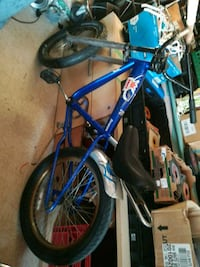 blue and black BMX bike Welland, L3B 5N5