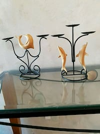 Dolphins candle set