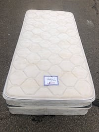 Twin pillow top mattress with box spring delivery available Aurora, 80013