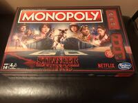 BRAND NEW STRANGER THINGS MONOPOLY BOARD GAME Vaughan, L4H