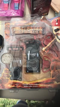 New in box pirates of the Caribbean compass Walkie talkies