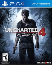 Uncharted 4: A Thief's End PS4  North Royalton