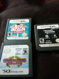 three Nintendo DS game cartridge Richmond, 23227