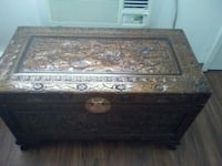 brown and black wooden chest box Knoxville, 37917