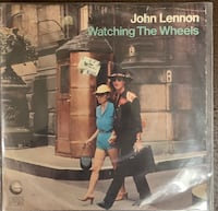 "John Lennon ""Watching The Wheels"" 45 Single Lebanon"