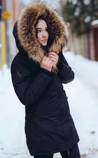 Arctic North Women's Winter Jacket - in Black  Mississauga