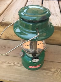 Coleman pump up camp lantern. Perfect addition for any serious camper Calgary, T3G 1Z9