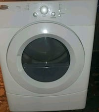 white front-load clothes washer Dearborn, 48120