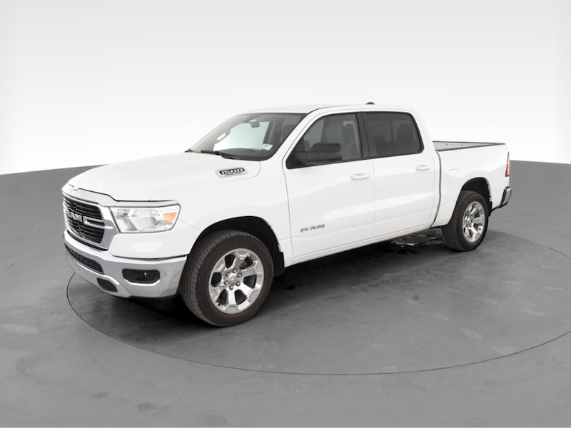 2019 Ram 1500 Crew Cab pickup Big Horn Pickup 4D 5 1/2 ft White cae40b78-dc35-4ce5-bed9-cc2167a36718