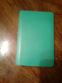 rectangular green plastic case Brookhaven, 19015