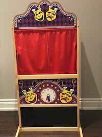 Melissa and Doug Puppet Theatre and Two Stick Puppets  Oakville, L6L