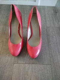 Brand new aldo pink heels size 7.5 Airdrie, T0M 0E0