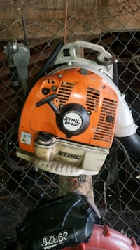 Used Orange And White Stihl Gas Blower Model 430 For Sale