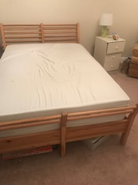 Solid wood bed frame. Full/double ARLINGTON