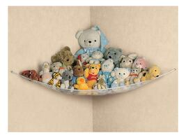Stuffed animal storage net