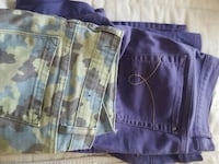 Two pairs of pants $12/each Vaughan, L4L 2K8