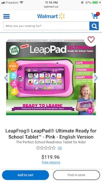 Leap Pad MINT condition Mississauga, L5M 7Z8
