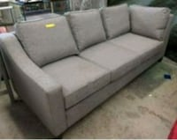 New gray fabric 3-seat sofa Maple Ridge, V2X 2L7