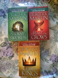 3 like new game of thrones books Markham, L6B 1A8