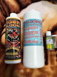 Tiger bloom fertilizer+PH DOWN concentrate+PH test indicator Mississauga, L4X 2M8