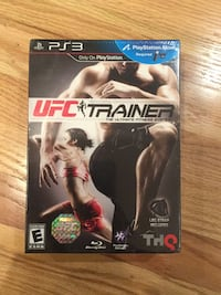 PlayStation 3 UFC trainer brand new in box. Campbell, 95008
