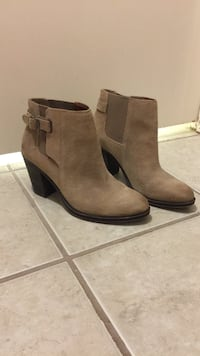 Lucky Brand tan booties size 8 Lakeway, 78734