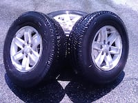 Alloy Rims With Tires Boston