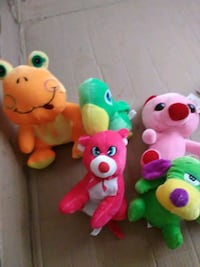 three assorted animal plush toys Lake